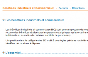 Liasse fiscale 2015 : déclaration IS ou BIC par internet